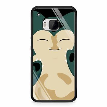 Pokemon Snorlax 2 HTC M9 Case