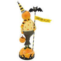 Halloween PUMPKIN HEAD FIGURE Resin 16168