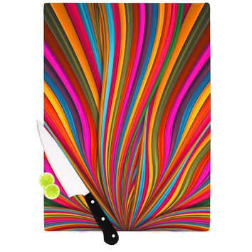 "Danny Ivan ""Believer"" Multicolor Cutting Board"