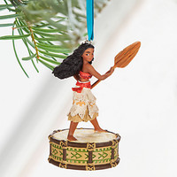 Disney Store 2016 Moana Singing Sketchbook Christmas Ornament New with Tags