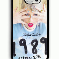Samsung Galaxy S6 Case - Rubber (TPU) Cover with Taylor Swift 1989 Rubber case Design