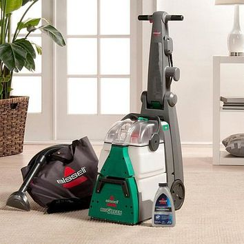 BISSELL® Big Green Deep Cleaning Machine with 3 Bottles of Cleanser - 8360290 | HSN