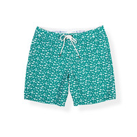Strong Boalt Boardshort Turquoise Shark Teeth