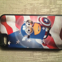 Captain America Minion Phone Case iPhone 5/5s