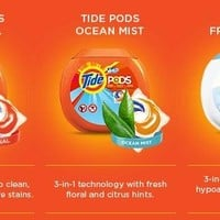 Tide PODS Spring Meadow HE Turbo Laundry Detergent Pacs 81-load Tub