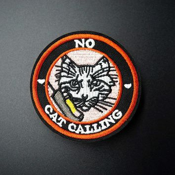 """No Cat Calling"" Patch"