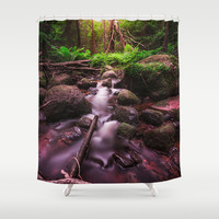 Jungle fever Shower Curtain by HappyMelvin