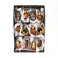 Old World Christmas Miniature Halloween Assortment Halloween Glass Ornament