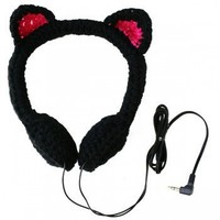 ShanaLogic.com - 100% Handmade & Independent Design! Kitty Headphones - Best Sellers
