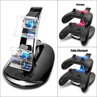 2win2buy Dual Xbox One Game Controller Charger USB Charging Adapter Stand Dock Station