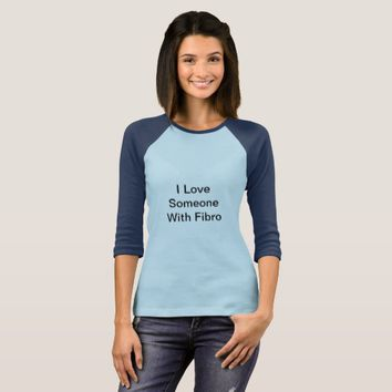 Long Sleeve I Love Someone With Fibro Shirt