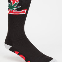 Lrg Lifted Degenerates Mens Socks Black One Size For Men 26697510001