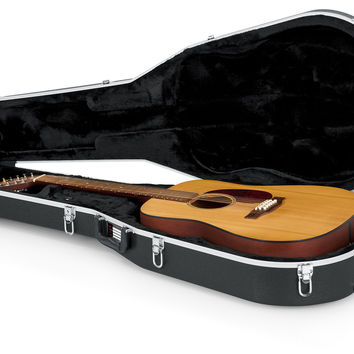 Deluxe Molded Case for 12-String Dreadnought Guitars