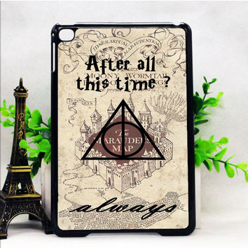 AFTER ALL THIS TIME ALWAYS QUOTE HARRY POTTER IPAD MINI 1 | 2 | 4 CASES