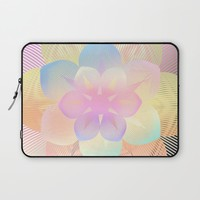 Flower Laptop Sleeve by Haroulita