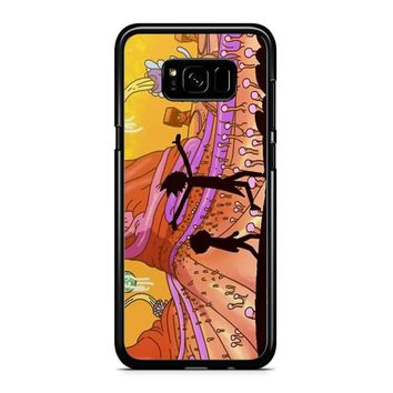 Rick Morty Samsung Galaxy S8 Case