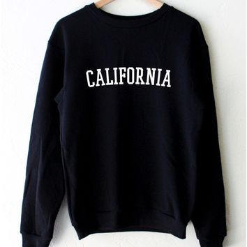 California Oversized Sweatshirt
