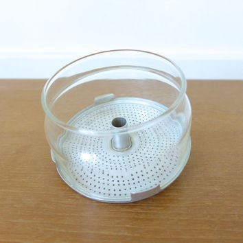 Pyrex percolator coffee pot glass basket and strainer