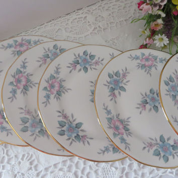 Colclough vintage 1970's Tea plates called Copellia