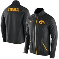 Iowa Hawkeyes Nike On-Court Game Jacket – Black
