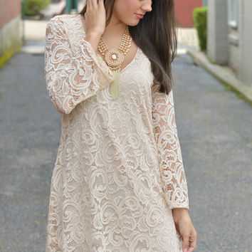 Nobody But Me Lace Dress