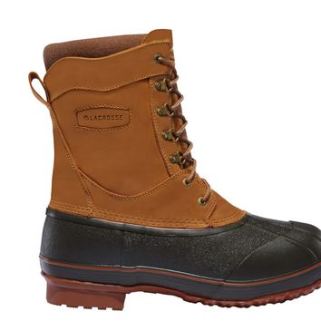 """LaCrosse ICE KING 10"""" Insulated 400G Brown Boots"""