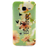 Pattern Soft TPU Cell Phone Back Case Cover Skin For Samsung Galaxy Core Prime G360 INY66