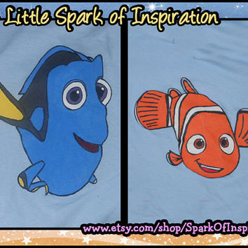 Best Buddies - Dory and Nemo Matching Shirts