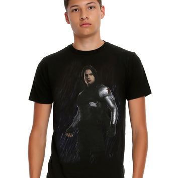 Marvel Captain America: Civil War Winter Soldier T-Shirt