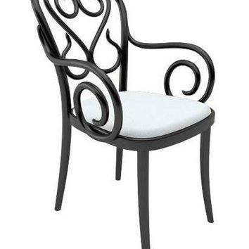 August Thonet B4 Bentwood Chair - Upholstered
