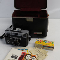 Vintage 1960s/1970s Kodak instamatic 814 - Retro 35mm Film Camera