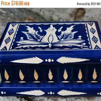 ON SALE HUGE secret compartment box wooden puzzle box jewelry box secret stash box trick box brain teaser handmade trinket box treasure ches