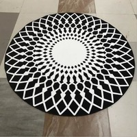 PEAPLM3 Round washable home yoga computer chair hanging basket mat living room Bedroom mat