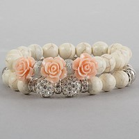 BKE Beaded Bracelet Set