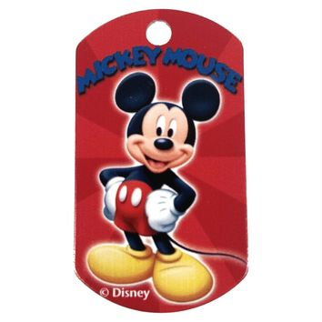 Mickey Mouse Military ID Tag