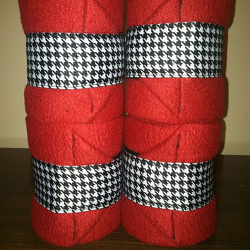 Houndstooth Polo Wraps