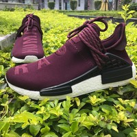 Best Online Sale Pharrell Williams  x Adidas PW HU Human Race NMD Boost Sport Running Shoes Classic Casual Shoes Sneakers
