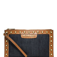 MICHAEL Michael Kors Large Selma Zip Clutch
