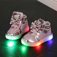 Baby Girls Light Up Shoes Baby Clothing