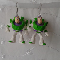 Sale  Toy Story Buzz Lightyear dangle earrings
