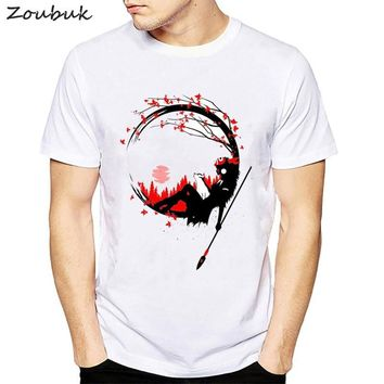 princess mononoke T shirt men Fashion Fantastic harajuku Miyazaki Ghibli tshirt Deer god of the Forest male boys tops plus size