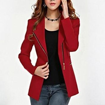 Women's Fashion All-match Slim Outerwear | LightInTheBox