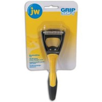 JW Pet Grip Soft Deshedding Tool for Cats