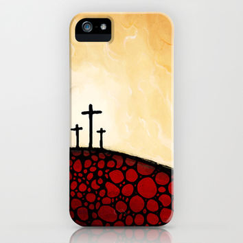 Forgiven - Christian Art By Sharon Cummings iPhone & iPod Case by Sharon Cummings