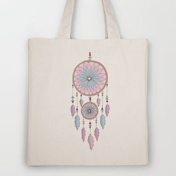 Dream Catcher Tote Bag by haleyivers | Society6