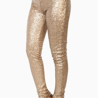 ALL THINGS BRIGHT LEGGINGS IN GOLD