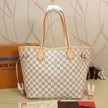 LV Women Shopping Leather Handbag Tote Satchel Shoulder Bag H-LLBPFSH