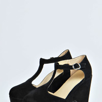 Gracey T-Bar Chunky Heels