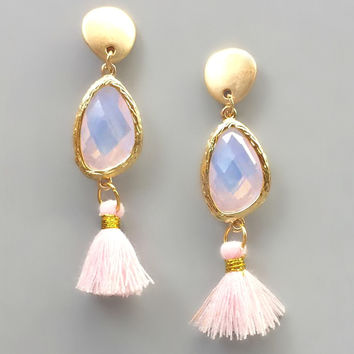Emma Blush Earrings