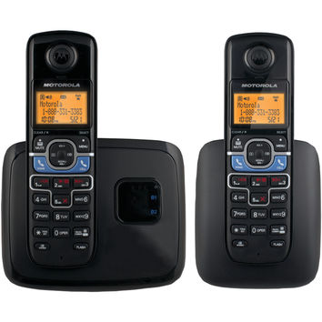 Motorola Dect 6.0 Cordless Phone System With Bluetooth Link (2-handset System)